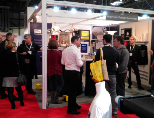 Many impressed people in our stand – The Printwear and Promotion Live¡¡¡
